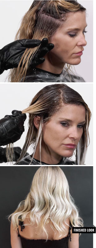How To Wet Balayage Root Melt With Camoflageandbalayage