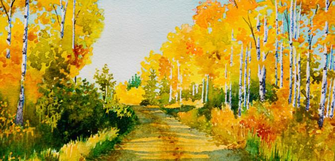 Watercolor Art Critique Seminar