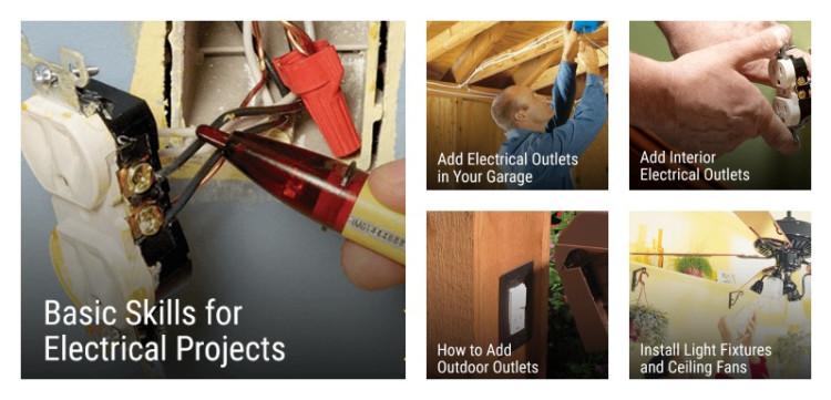 Online Course Catalog - Family Handyman DIY University: home