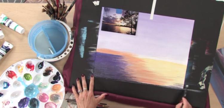 Art Lessons: Acrylic Landscape Painting