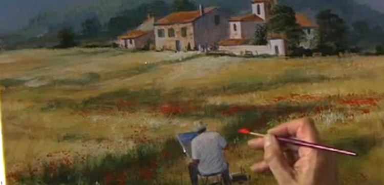 Brush with Acrylics: Painting the Easy Way – Terry Harrison
