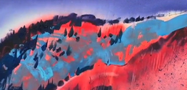 Acrylics: A Watercolor Approach: Paint a Landscape