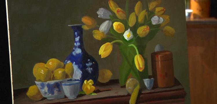 Art of Painting Flowers in Oil