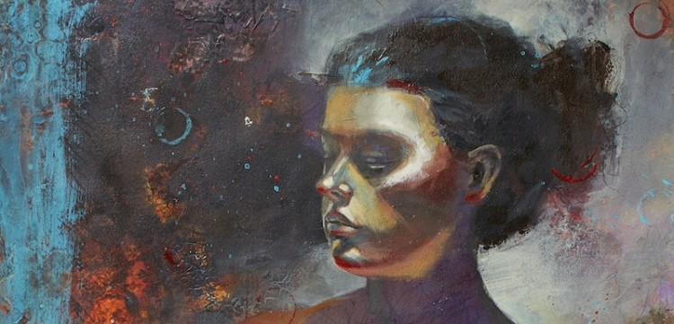 Acrylic Painting: Mixed Media Portraits