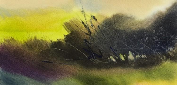 Negative Painting Techniques: Watercolor Landscapes