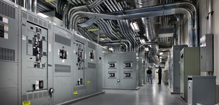 electrical system room