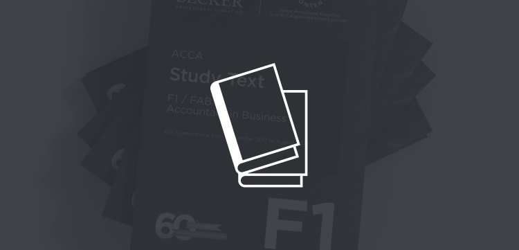 Study your association of chartered certified accountants acca hard copy books fandeluxe Images