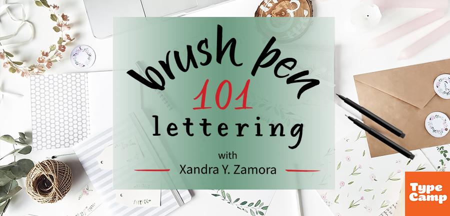 Brush Lettering I