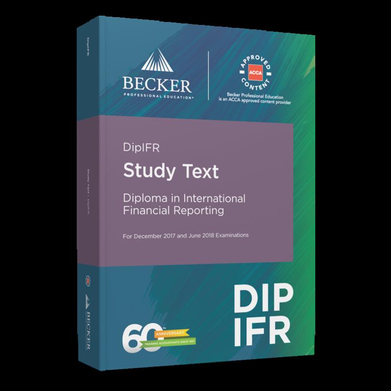 dipifr study text becker acca dipifr study text