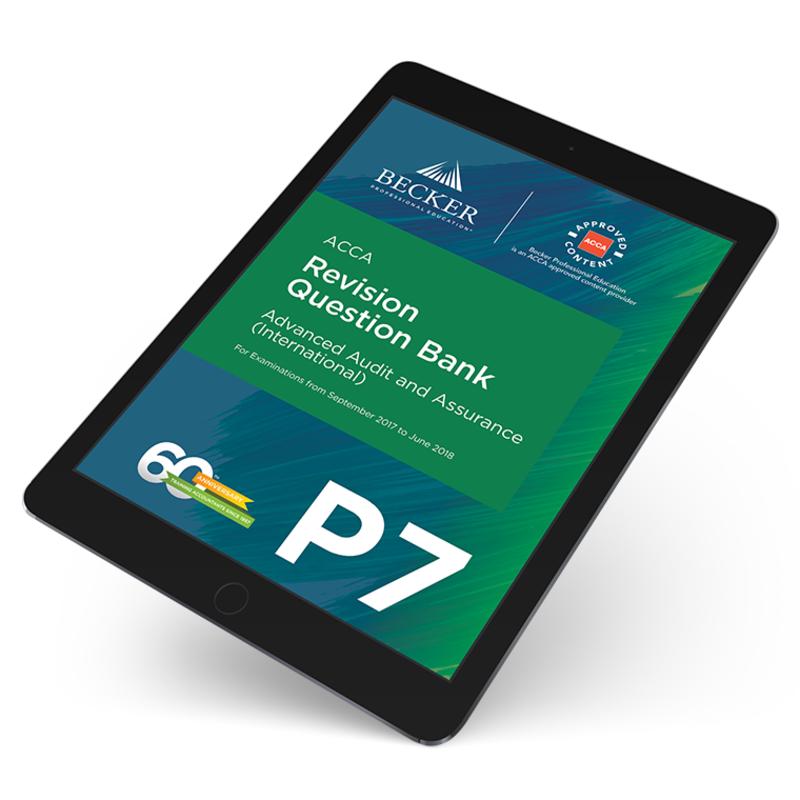 P7 advanced audit and assurance international revision question p7 advanced audit and assurance international revision question bank ebook fandeluxe Choice Image