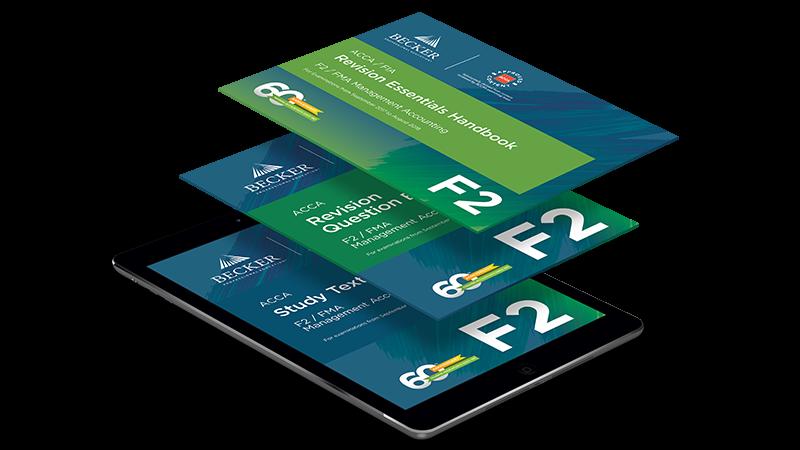 F2 management accounting basic self study package ebook becker acca f2 management accounting basic self study package ebook fandeluxe Gallery