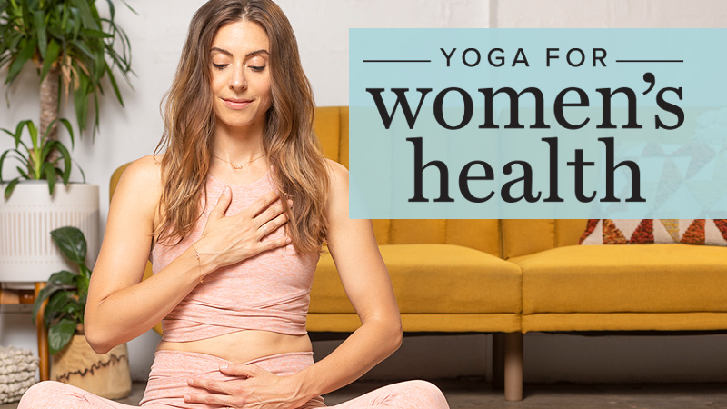 Yoga For Women S Health With Maria Villella
