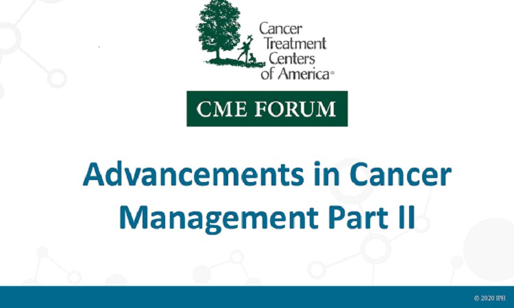 Advancements in Cancer Management 2020 Part II
