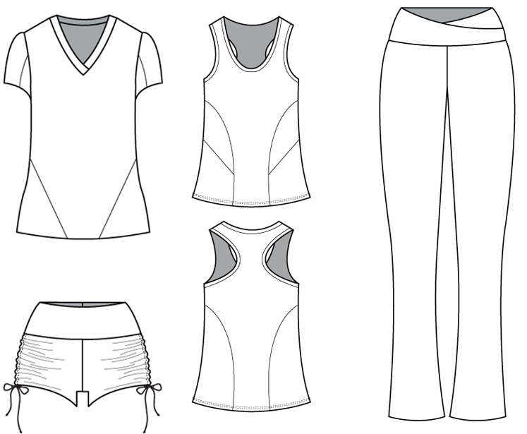 Sew Your Own Personal Workout Wear