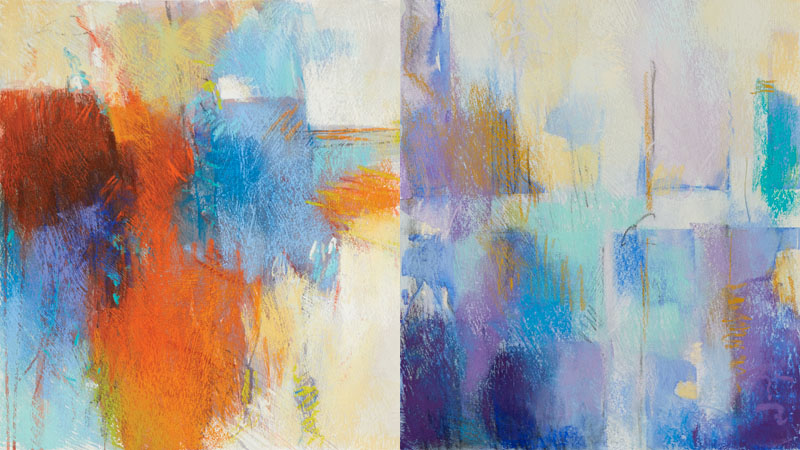 Image gallery pastel abstract for Artist canvas paint color
