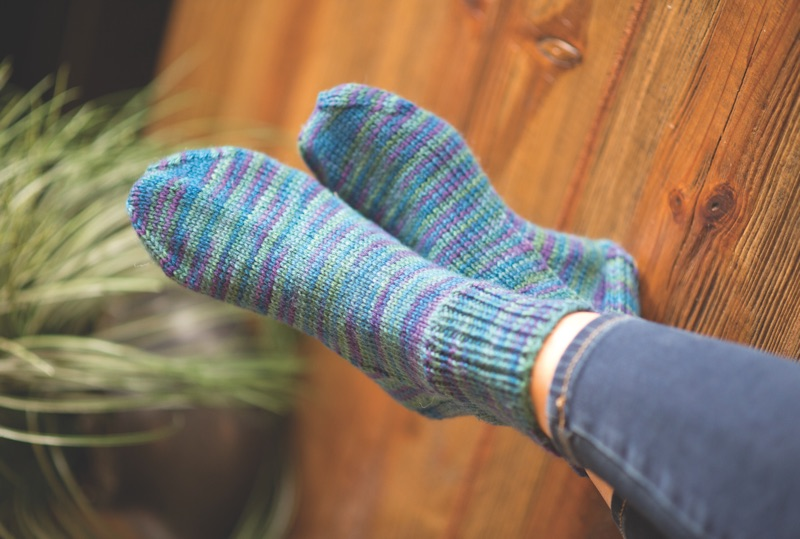 Knit A Quick Pair Of Comfortable Socks With Jen Lucas Craft Daily