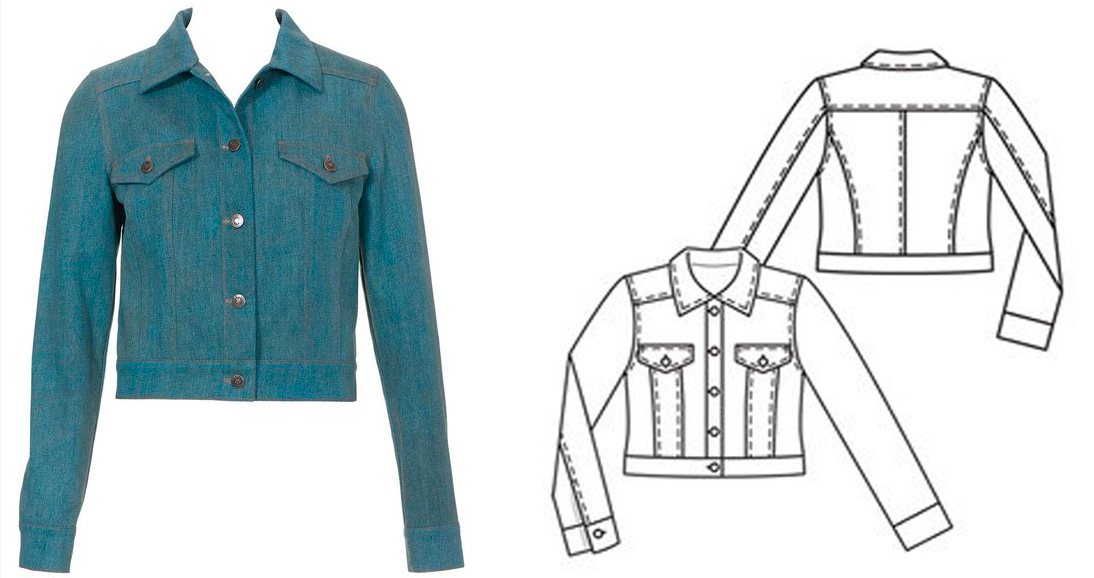 Sew-Along: Jean Jacket with Meg Healy - Burda University